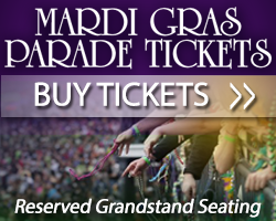 Buy Mardi Gras Parade Tickets now