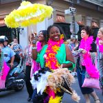 FestiGals Step Up Second-Line Parade