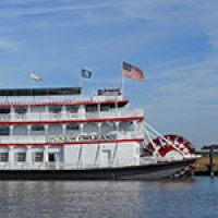 Riverboat CITY OF NEW ORLEANS Mardi Gras Jazz Brunch & Mardi Gras World Tour Combo