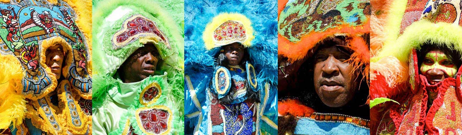 Martin Luther King Parade 2020 New Orleans Mardi Gras Indians Super Sunday   Mardi Gras New Orleans