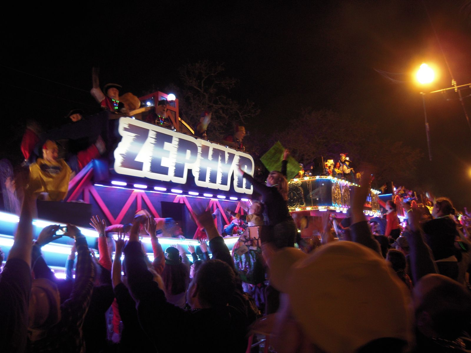 Endymion Record Breaking Mardi Gras Float
