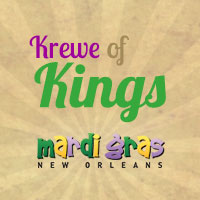 Krewe of Kings logo