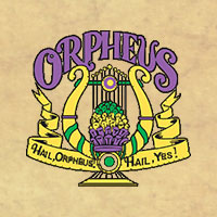 Original Krewe of Orpheus logo