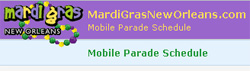 Mardi Gras New Orleans Goes Mobile