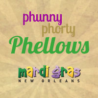 Phunny Phorty Phellows logo